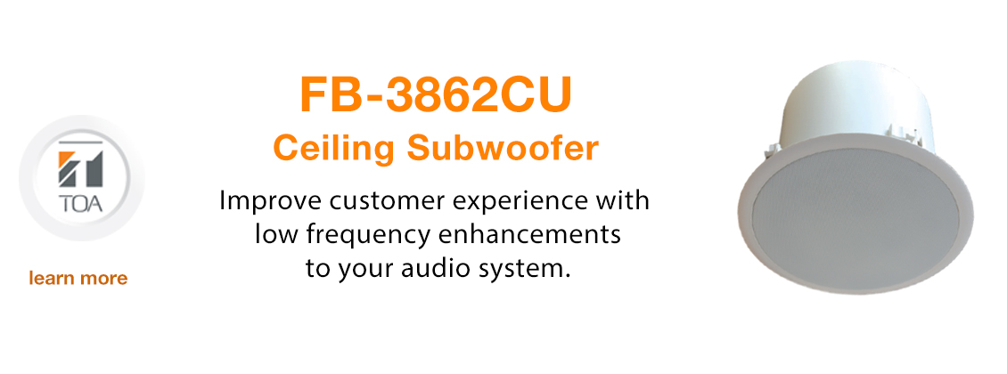 commercial sound system, audio system, business, speakers, ceiling, subwoofer, music, building, office, store, medical